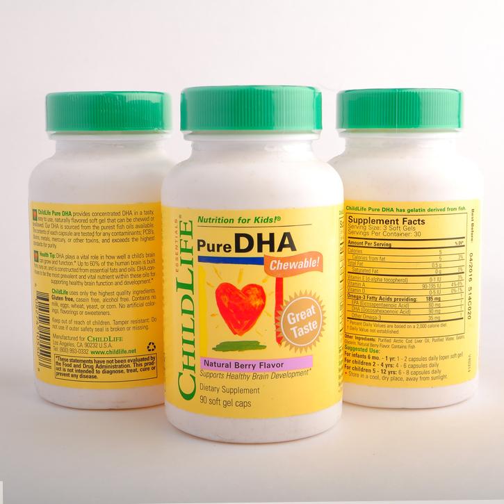 Bộ 3 sản phẩm childlife pure dha