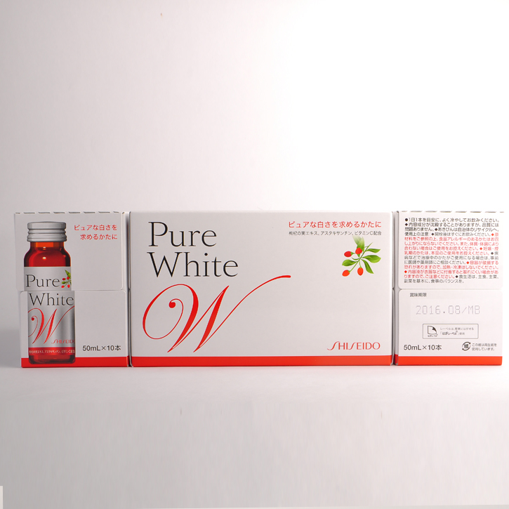 Pure white collagen shiseido