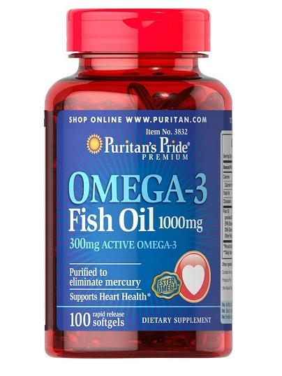 Dầu cá omega-3 fish là gì