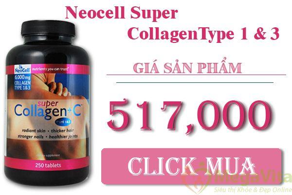 Collagen neocell có tốt không, giá bao nhiêu, mua ở đâu ?