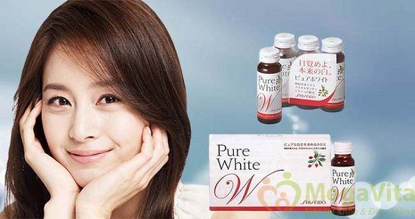 Pure white shiseido có tốt không, giá bao nhiêu, mua ở đâu?