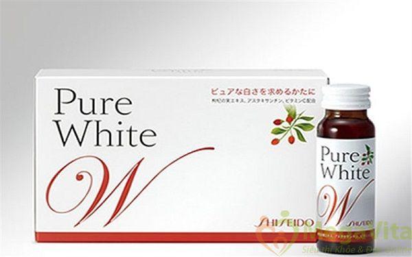 Pure white shiseido có tốt không, giá bao nhiêu, mua ở đâu