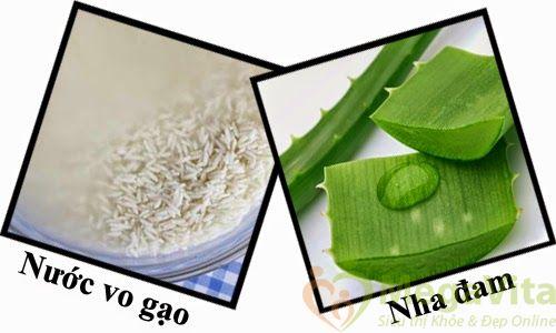 Cách làm trắng da mặt bằng nước vo gạo