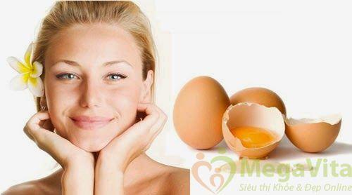 Cách làm đẹp da mặt bằng lòng trắng trứng gà