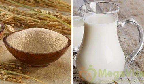 Cách làm và sử dụng sữa non dưỡng trắng da