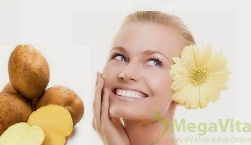 Cách chăm sóc da mặt với khoai tây