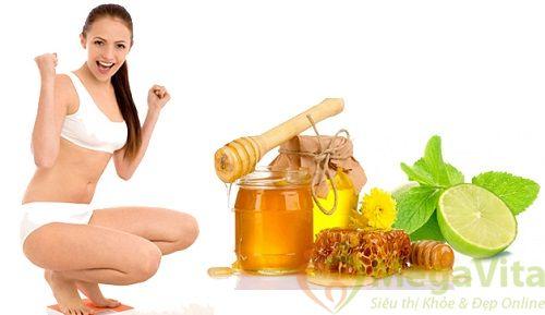 Bí quyết giảm cân bằng mật ong và chanh chỉ trong 3 ngày