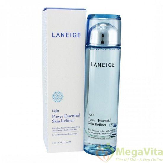 Nước hoa hồng power essential skin refiner light
