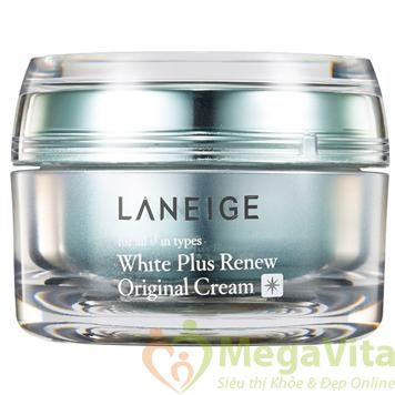 White plus renew original cream: kem dưỡng ẩm trắng da ngày và đêm 50ml