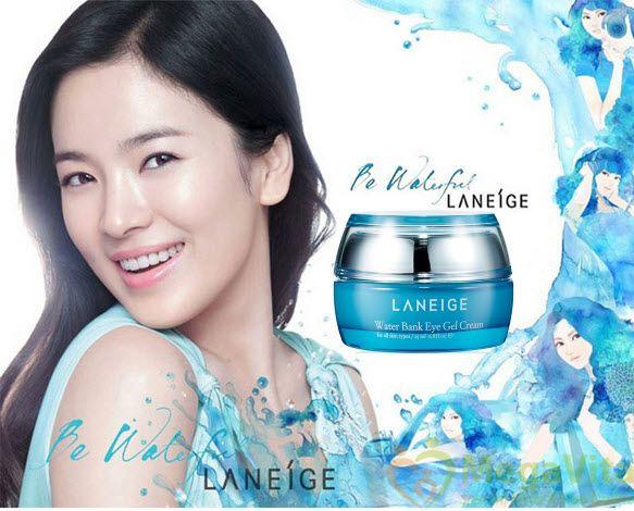 Kem dưỡng ẩm vùng da mắt laneige water bank eye gel cream 25ml