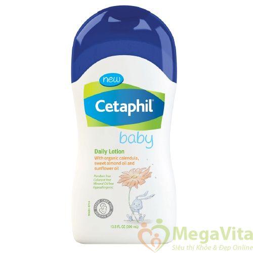 Kem dưỡng ẩm hằng ngày cho bé cetaphil baby daily lotion 400ml