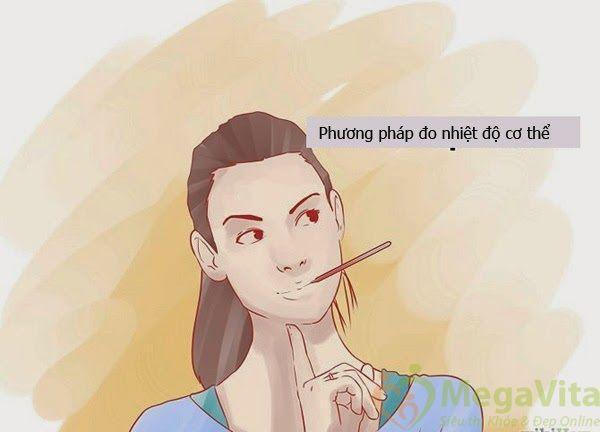Cách đo nhiệt độ cơ thể tính ngày rụng trứng