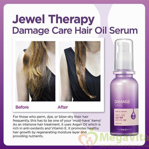 Tinh dầu dưỡng tóc jewel therapy demage care hair oit serum