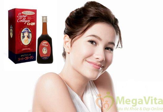 Fuji health super collagen coq10 premium - nước uống bổ sung collagen, 720ml