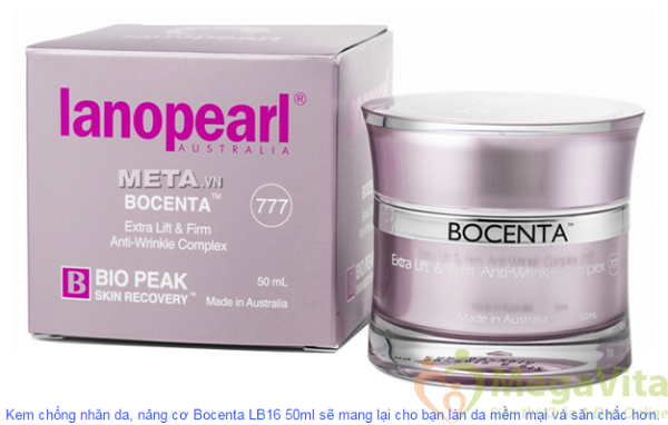 Kem chống nhăn da và nâng cơ bocenta lanopearl