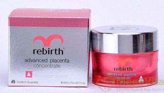 Rebirth advanced placenta concentrate - kem nhau thai cừu đặc trị nám, 50ml