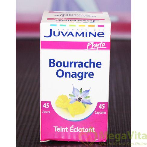 Juvamine bourrache onagre: giúp da luôn đẹp mịn màng, 45 viên