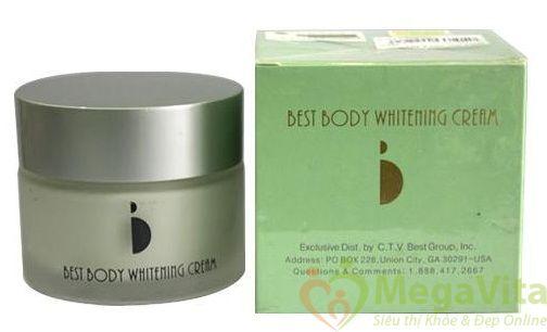 Kem làm trắng da best body whitening cream, 100g