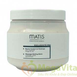 Kem massage dành cho mặt và mắt - matis massage melting balm, 250ml