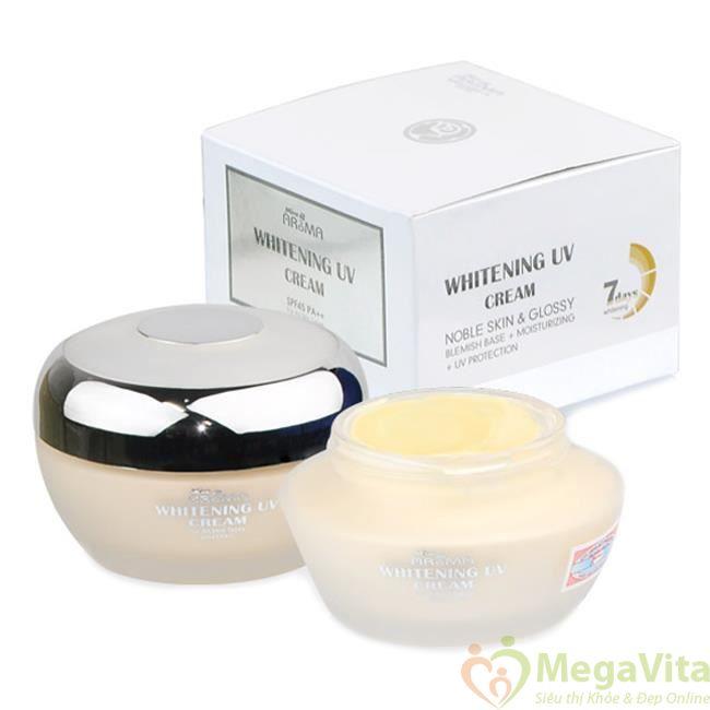 Aroma whitening uv cream
