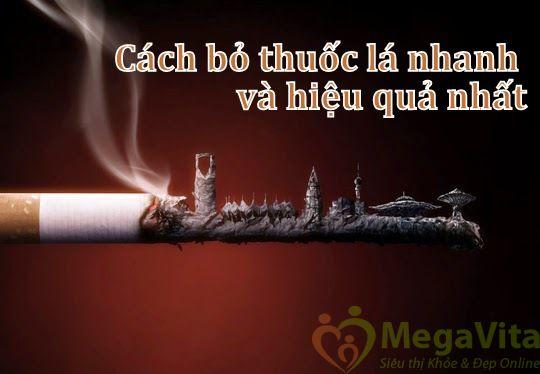 Cách bỏ thuốc lá hiệu quả nhất