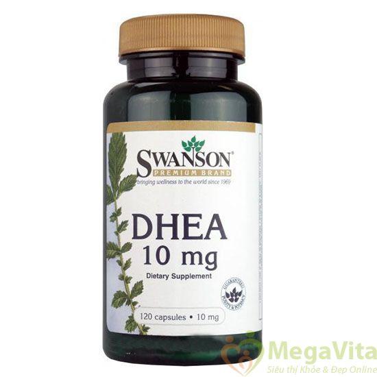 Swanson dhea 10mg - thuốc hạn chế lão hóa, cân bằng nội tiết tố, 120 viên