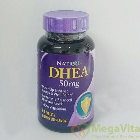 Natrol dhea 50mg – sản phẩm tăng cường sức khỏe, chống lão hóa 60 viên
