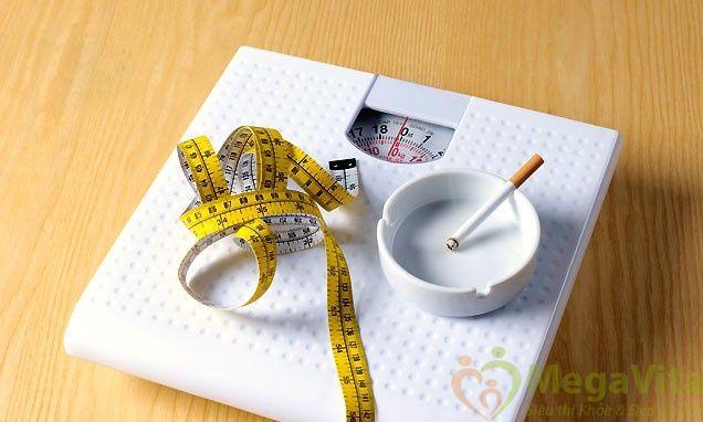 Bỏ thuốc lá có tăng cân không? bao lâu thì tăng cân?