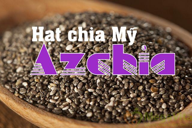 Azchia - hạt chia dinh dưỡng cho não, 500g