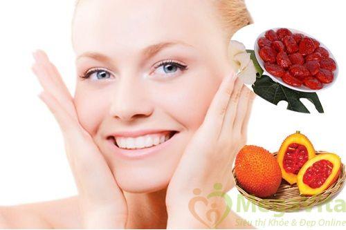 Tác dụng của dầu gấc đối với da mặt