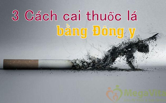 Cai thuốc lá dân gian bằng Đông y