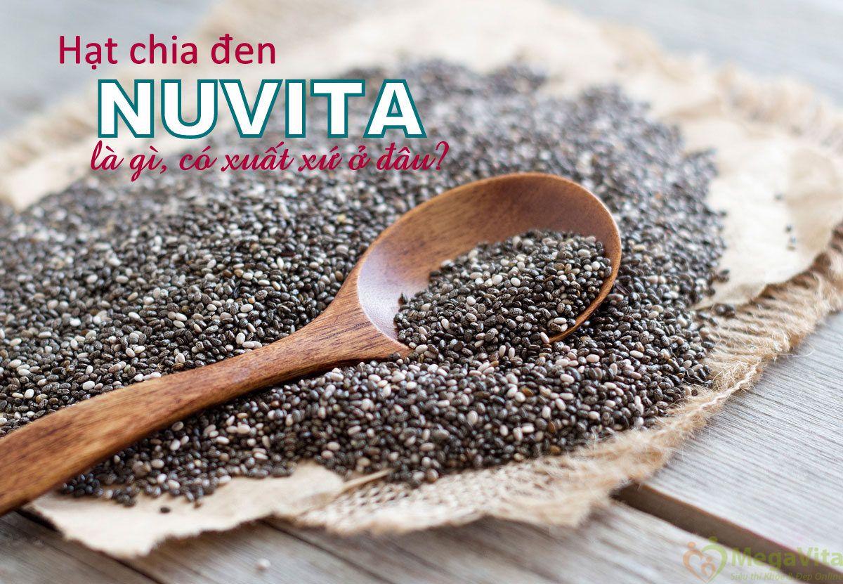 Hạt chia đen nutiva là gì, có xuất xứ ở đâu?