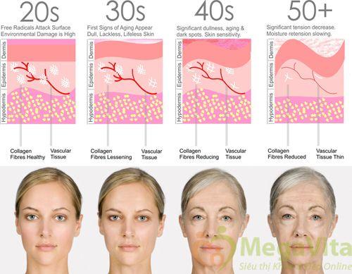 Viên uống trẻ hóa da, tái tạo da hư tổn neocell marine collagen 2000mg của mỹ 120 viên