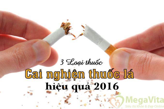 3 loại thuốc cai nghiện thuốc lá hiệu quả 2016