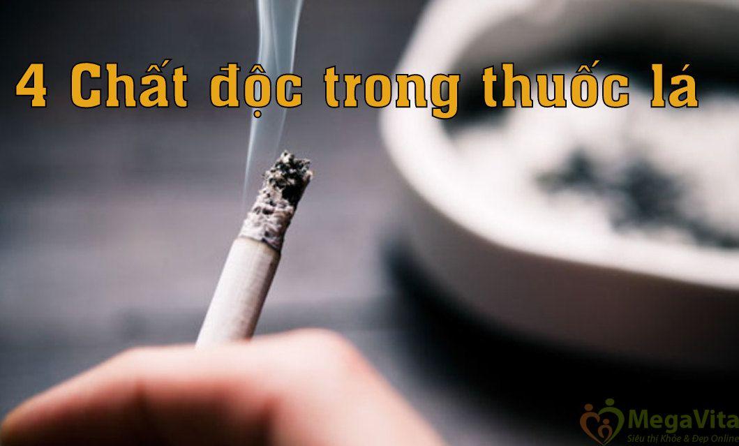 Chất độc trong thuốc lá bạn phải bỏ thuốc ngay