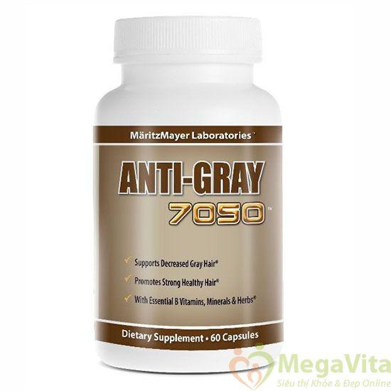 Vì sao thuốc trị tóc bạc sớm anti gray được tin dùng trên thế giới ?