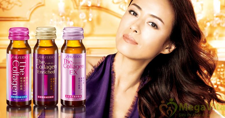 Nước uống collagen shiseido có tốt không? mua ở đâu?