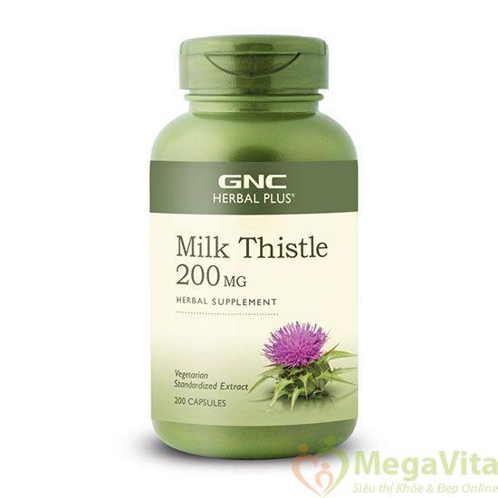 Tác dụng nổi bật của gnc milk thistle 200 mg