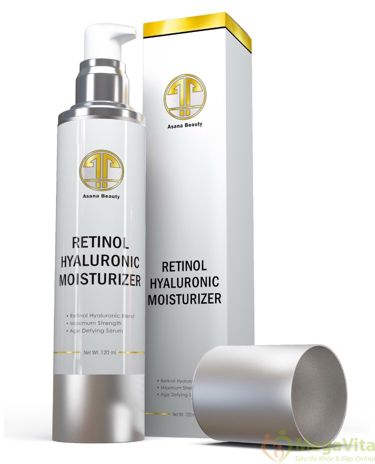 Ba tiêu chí của kem dưỡng ẩm da mặt retinol hyaluronic collagen moisturizer