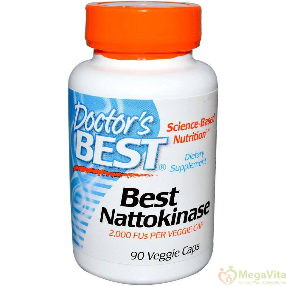 Viên uống doctor's best nattokinase ngăn ngừa đột quỵ có hiệu quả không?