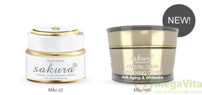 Kem dưỡng trắng da sakura có tốt không, giá bao nhiêu?