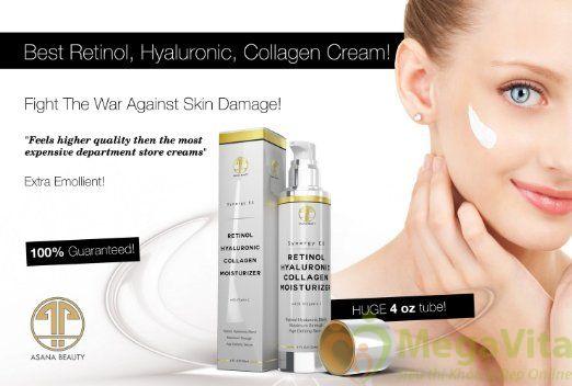 Kem dưỡng ẩm chống lão hóa cao cấp retinol hyaluronic collagen moisturizer 120ml