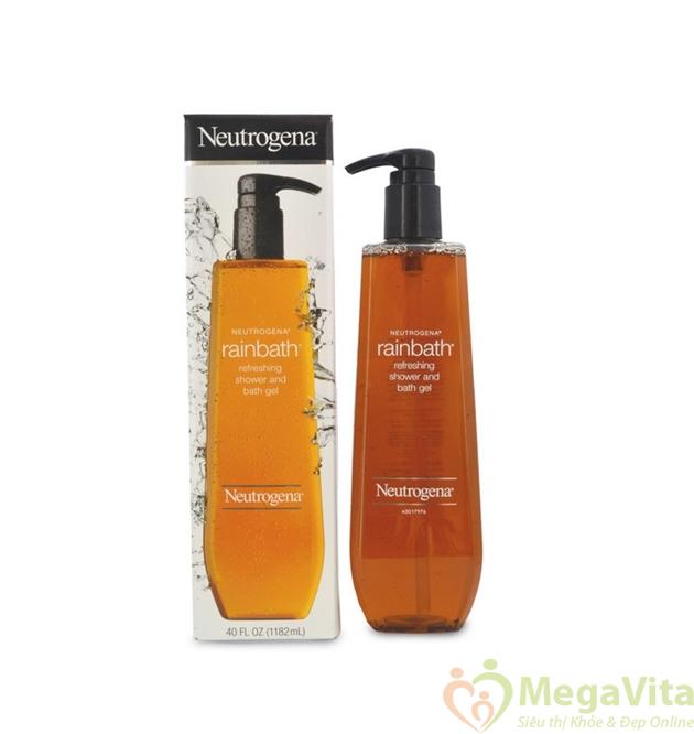 Sữa tắm neutrogena rainbath refreshing dưỡng ẩm cho da, hương thảo mộc và trái cây 473ml