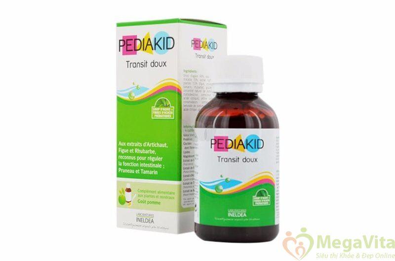 Siro hỗ trợ tiêu hóa, chống táo bón cho trẻ pediakid transit doux 150ml