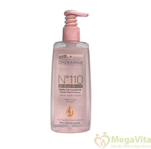 Nước dưỡng da chăm sóc da diadermine n110 200ml của pháp