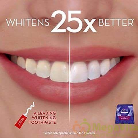 Sự thật về miếng dán làm trắng răng crest 3d white