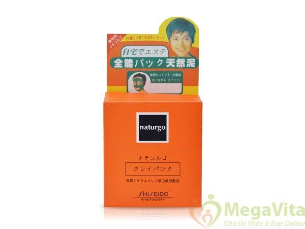 Mặt nạ bùn non lột mụn, dưỡng da naturgo shiseido hộp 6 gói