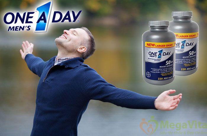 Thuốc one a day men's 50+ bổ sung vitamin cho nam giới có tốt không?