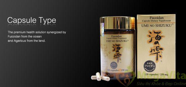 Thuốc hỗ trợ điều trị ung thư fucoidan umi no shizuku có tốt không?