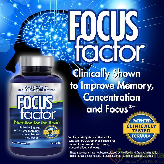Thuốc bổ não focus factor có tốt không? focus factor giá bao nhiêu?